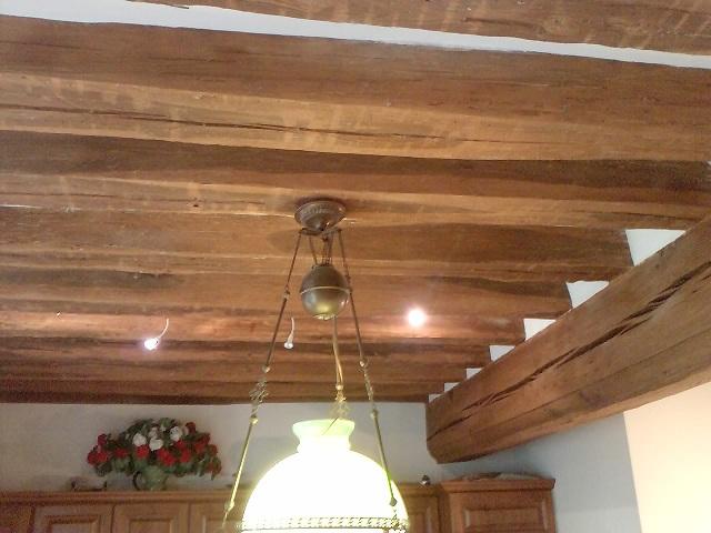 Plafond avec poutre apparente plafond poutre bois images - Poutre apparente plafond ...